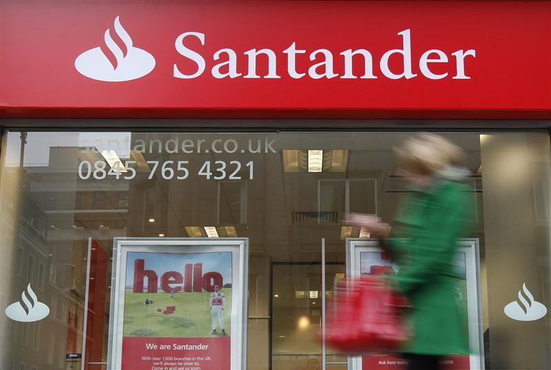 Santander Q4 profit falls 4 pct on USA impairments